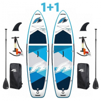 Paddleboard F2 Strato 10,5 Blue DOUBLE SET