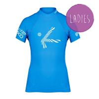 Hiko Shade Plush Women Blue KR. rukáv